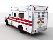 救护车 - 照片真实 - 超低聚 3d model