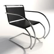 Mies Van Der Rohe MR Chair 3d model