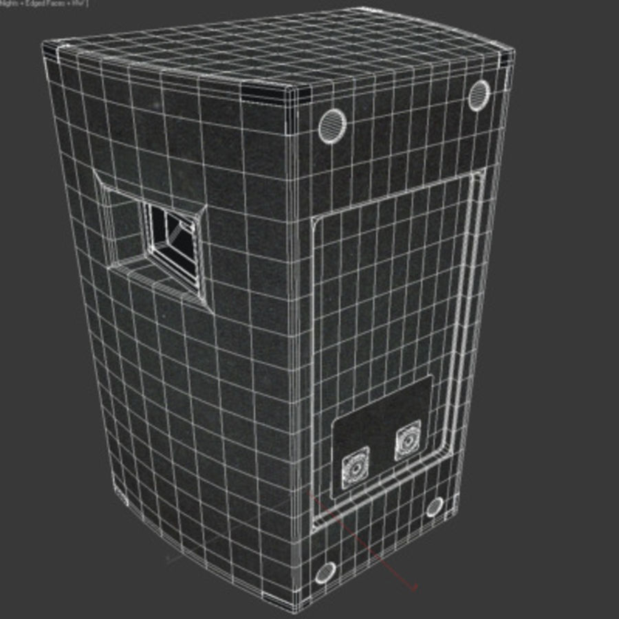 Speaker royalty-free 3d model - Preview no. 10