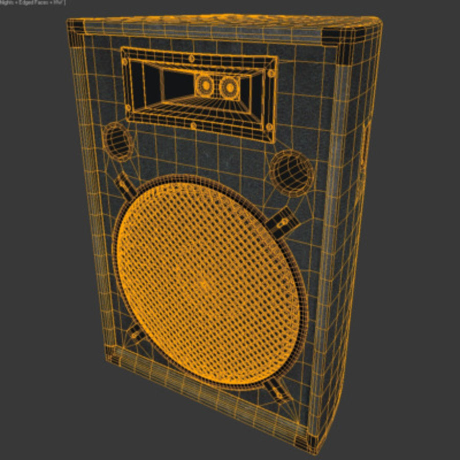 Speaker royalty-free 3d model - Preview no. 5