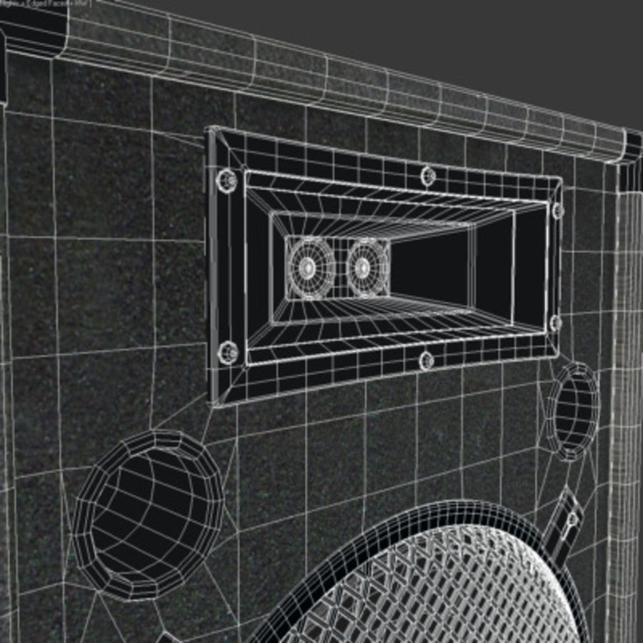 Speaker royalty-free 3d model - Preview no. 8