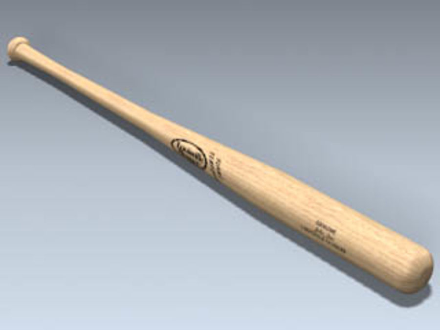 Baseball Bat royalty-free 3d model - Preview no. 1