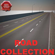 Road Collection 3d model