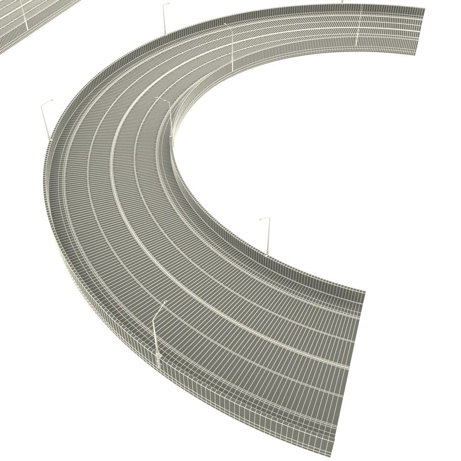 Road Collection royalty-free 3d model - Preview no. 18