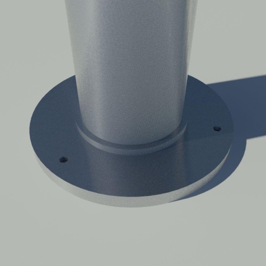 手电筒灯 royalty-free 3d model - Preview no. 3