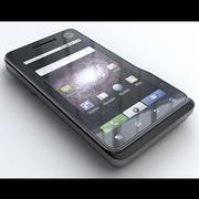 Motorola Milestone XT720 3d model