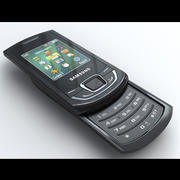 Samsung Monte Slider E2550 3d model