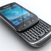 黑莓Torch 9800 3d model