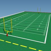 Campo de futebol 3d model