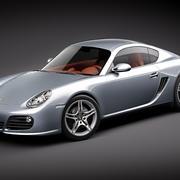 Porsche Cayman S 2011 modelo 3d