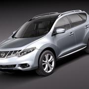 Nissan Murano 2011 3d model