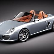 Porsche Boxster 2011 3d model