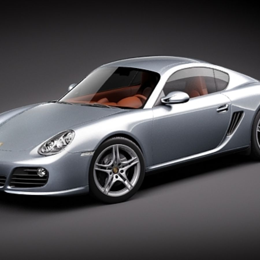 Porsche Cayman S 2011(1) 3D Model $129 - .obj .lwo .fbx .c4d .max ...