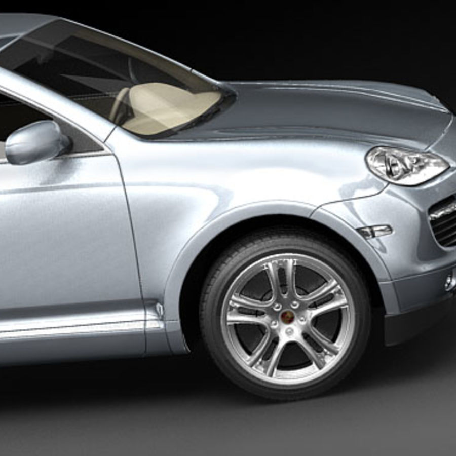 Porsche Cayenne Turbo 2008 3d Model 79 Max 3ds Free3d
