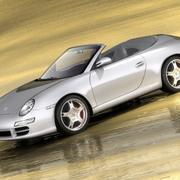 Cabrio Porsche 911 Carrera S 3d model