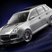 Porsche Cayenne Turbo Tuning 2005 3d model