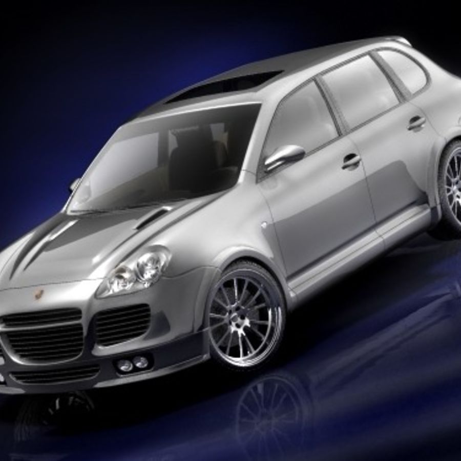 porsche cayenne turbo tuning 2005 3d model 39 max 3ds. Black Bedroom Furniture Sets. Home Design Ideas