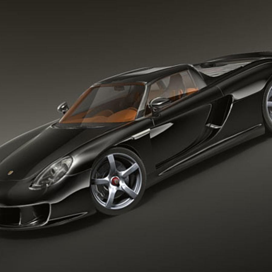 2005 Porsche 997 Engine Specs: Porsche Carrera GT 3D Model $59