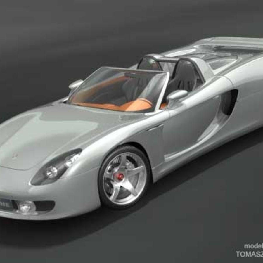 2005 Porsche 997 Engine Specs: Porsche Carrera GT Concept 3D Model $39