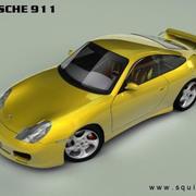 Porsche 911 2003 3d model