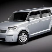 Scion xB 2009-2012 3d model