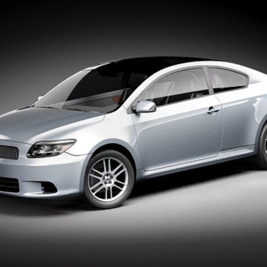 Scion tC royalty-free 3d model - Preview no. 1