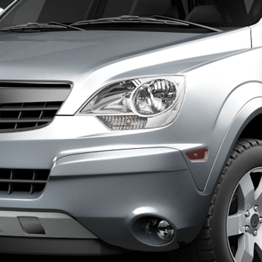 Saturn Vue 2011 royalty-free 3d model - Preview no. 2