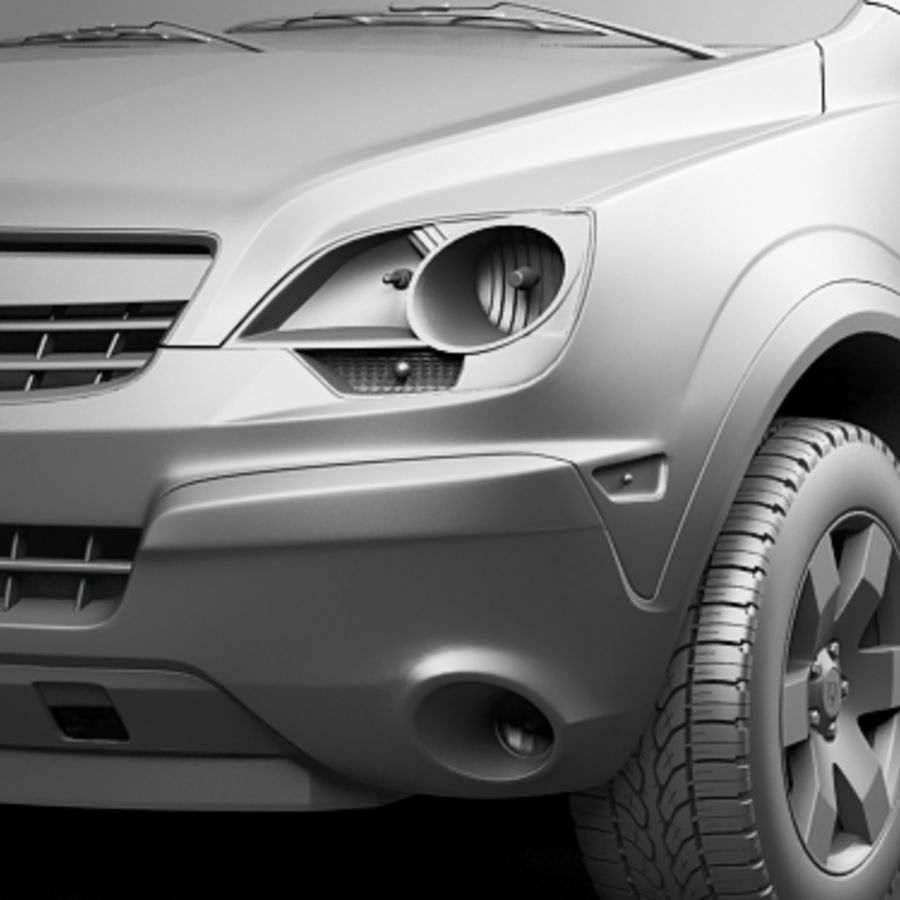 Saturn Vue 2011 royalty-free 3d model - Preview no. 10