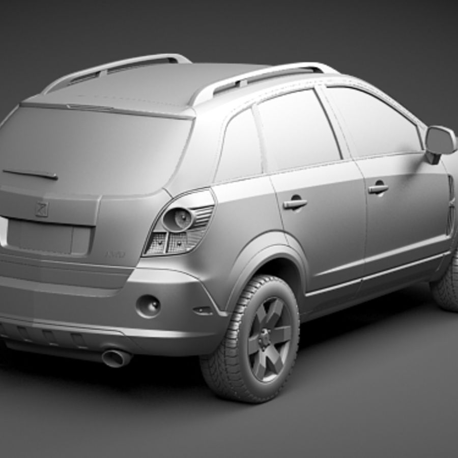 Saturn Vue 2011 royalty-free 3d model - Preview no. 12