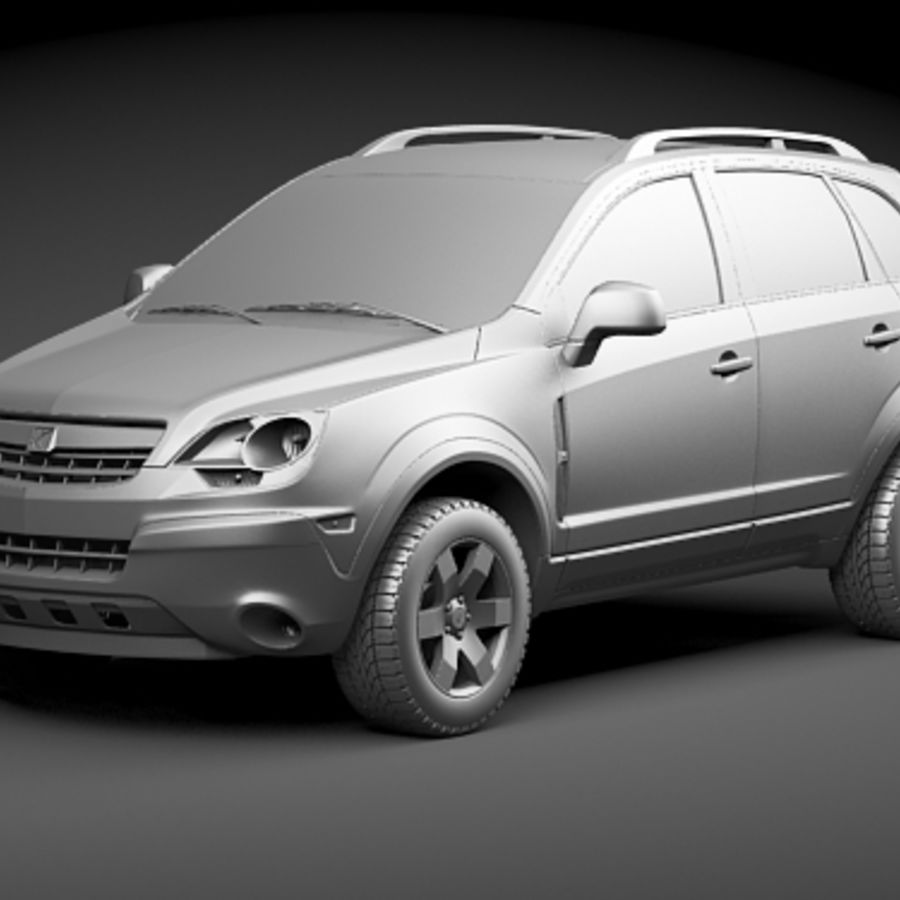 Saturn Vue 2011 royalty-free 3d model - Preview no. 9