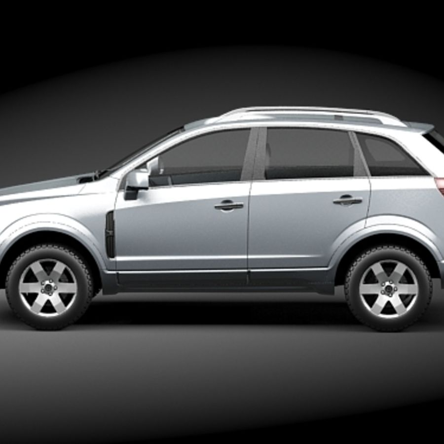 Saturn Vue 2011 royalty-free 3d model - Preview no. 7