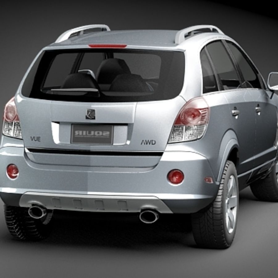 Saturn Vue 2011 royalty-free 3d model - Preview no. 6