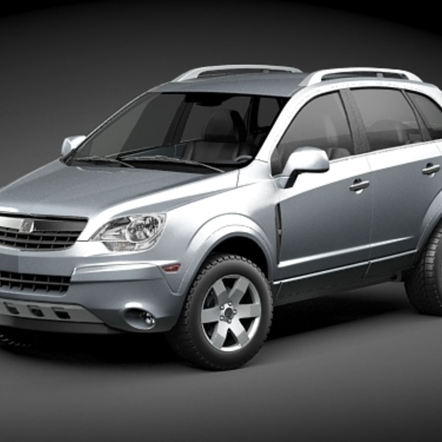 Saturn Vue 2011 royalty-free 3d model - Preview no. 1