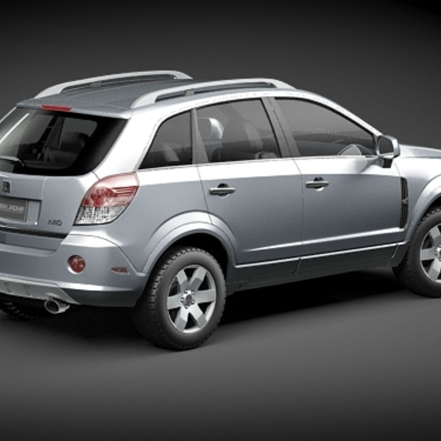 Saturn Vue 2011 royalty-free 3d model - Preview no. 5