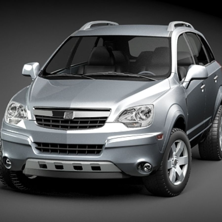 Saturn Vue 2011 royalty-free 3d model - Preview no. 3