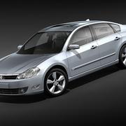 Renault Safrane 2010 3d model