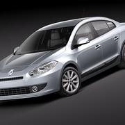 Renault Fluence 2011 3d model