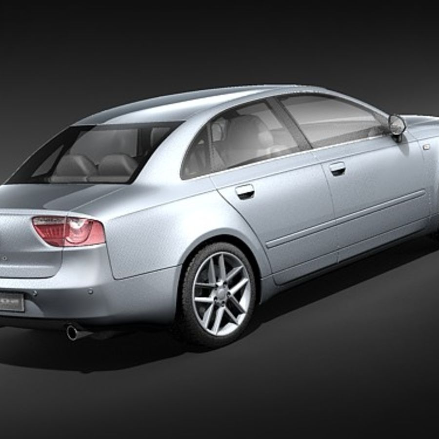 Seat Exeo royalty-free 3d model - Preview no. 5