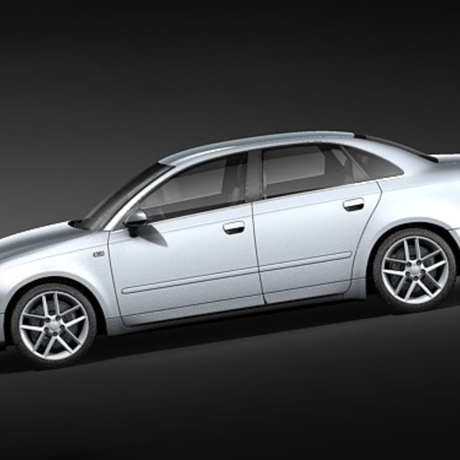 Seat Exeo royalty-free 3d model - Preview no. 7