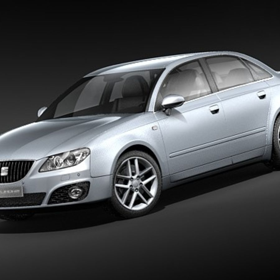 Seat Exeo royalty-free 3d model - Preview no. 1