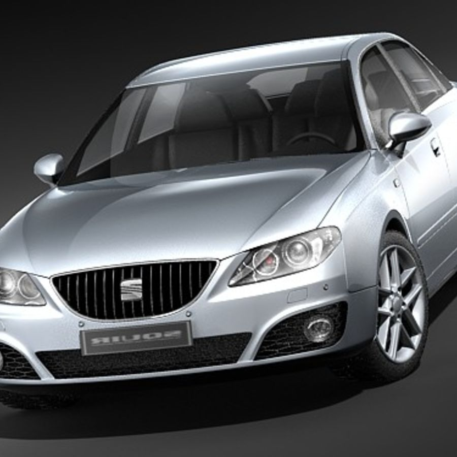 Seat Exeo royalty-free 3d model - Preview no. 2
