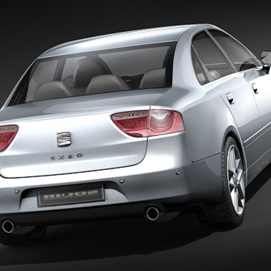 Seat Exeo royalty-free 3d model - Preview no. 4
