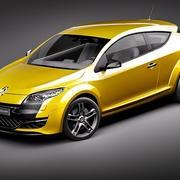 Renault Megane RS 2011 3d model