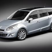 Renault Grand Scenic 2011 3d model