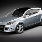 Renault Megane Coupe 2010 3d model
