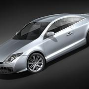 Renault Laguna Coupé 2010 3d model