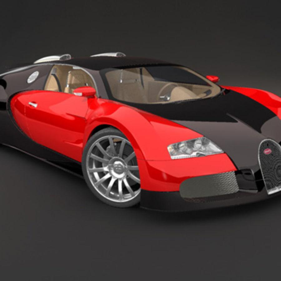 bugatti veyron max royalty-free 3d model - Preview no. 1