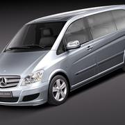 Mercedes Viano 2010 3d model