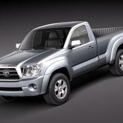 Toyota Tacoma Single Cab 2010 3d model