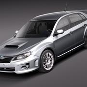 Subaru Impreza WRX STi sedan 2010 3d model